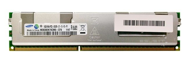 Memory RAM 1x 16GB Samsung ECC REGISTERED DDR3 4Rx4 1066MHz PC3-8500 RDIMM | M393B2K70CM0-CF8