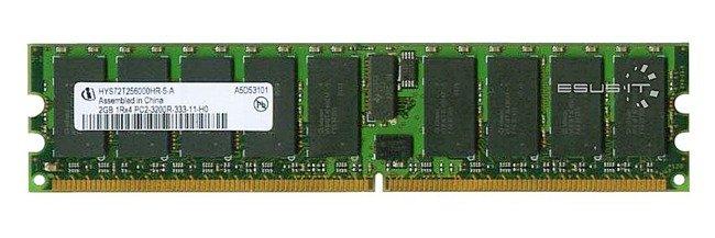 Memory RAM 1x 2GB QIMONDA ECC REGISTERED DDR2  400MHz PC2-3200 RDIMM   HYS72T256000HR-5-A