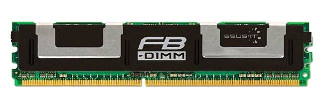 Memory RAM 1x 2GB Samsung ECC FULLY BUFFERED DDR2 533MHz PC2-4200 FBDIMM | M395T5750CZ4-CD51