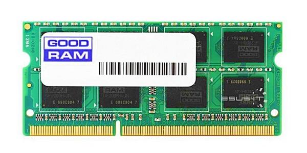 Memory RAM 1x 4GB GoodRAM SO-DIMM DDR3 1333MHz PC3-10600 | W-AMM13334G